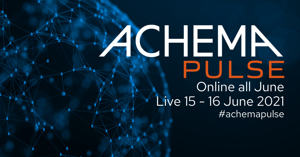 Exhibition Information: The Online ACHEMA Exhibition from 31 May to 30 June 2021
