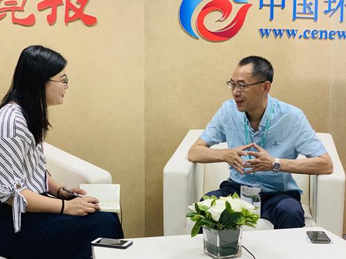 直播中国国际环保展 | 高端装备+高质量服务,为环境持续改善提供强大支撑——专访中科光电总经理万学平
